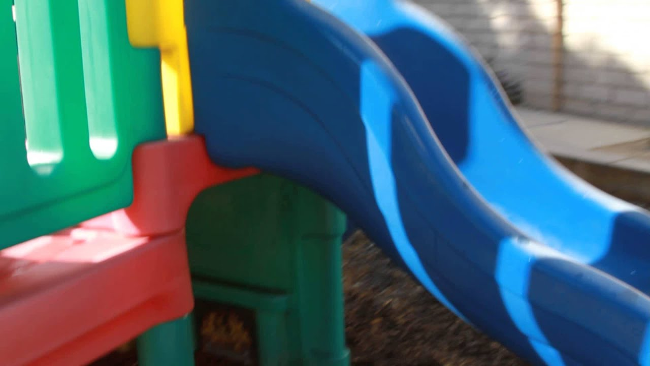 Sold Little Tikes Commercial Playground 3 Slides