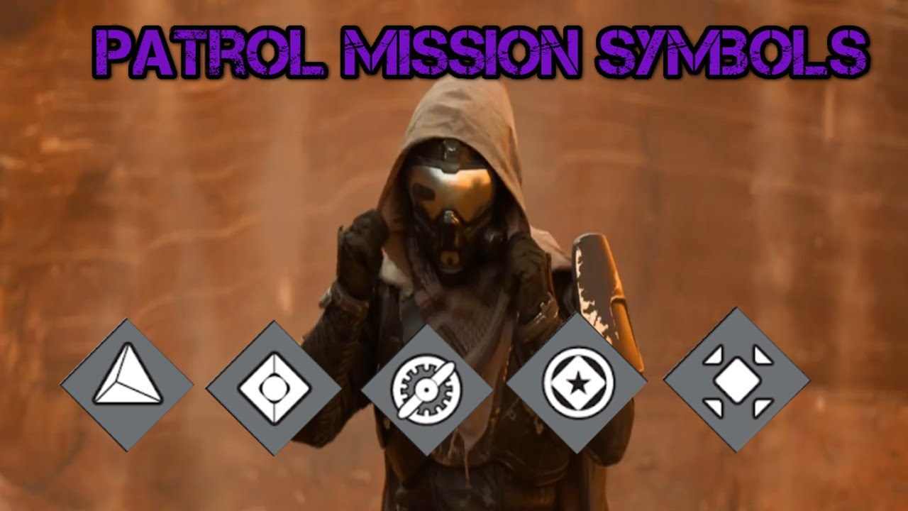 Destiny patrol mission symbols youtube biocorpaavc Image collections