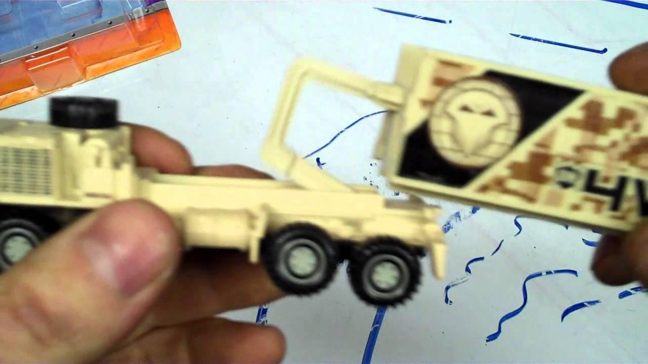 Matchbox Oshkosh Military Truck 8x8 Review Youtube