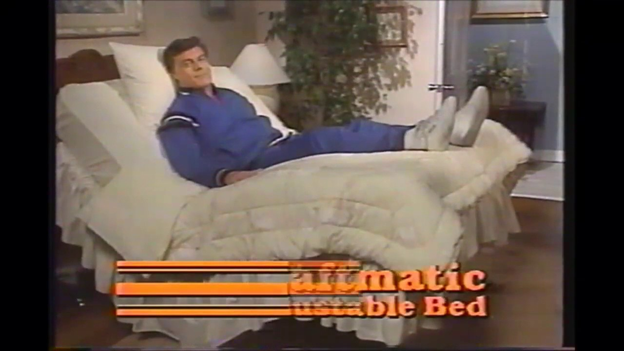 Craftmatic adjustable bed commercial 1997