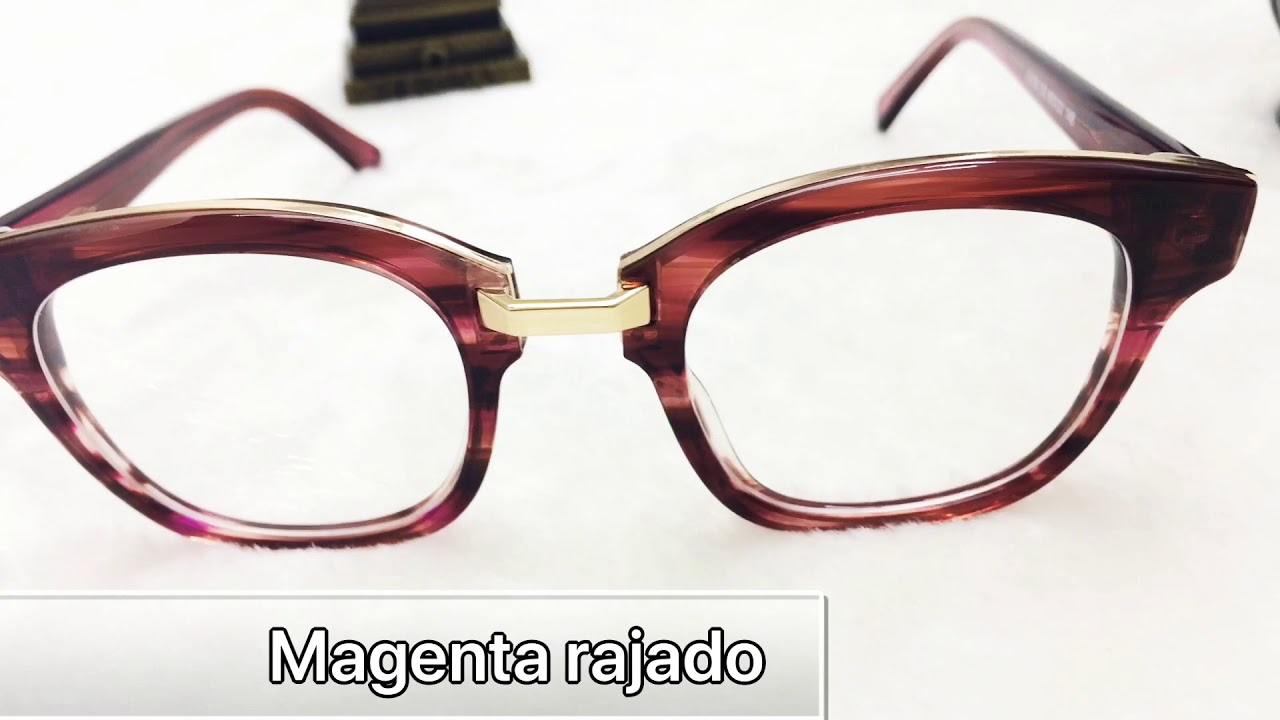09a0a6633136c Armação De Óculos De Grau Estilo Quadrado Feminino - YouTube