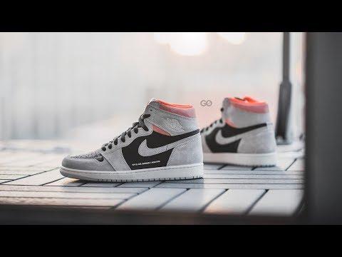 "Air Jordan 1 Retro High OG ""Neutral Grey / Hyper Crimson"": Review & On-Feet"