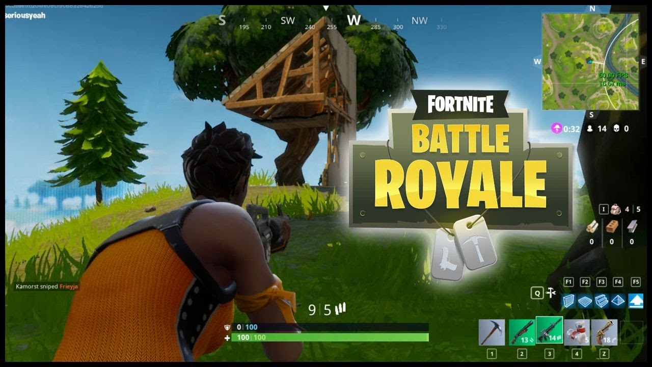 Pubg Vs Fortnite Vs H1z1 Which Battle Royale Is Right: Fortnite Battle Royale: First Look