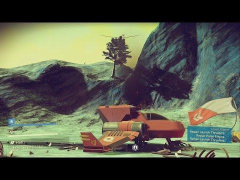 No Man's Sky: Space Exploration and Crazy Animals