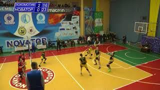 Highlights першої гри Локомотив - Новатор