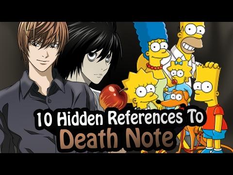 10 References To Death Note Hidden In Other Works! [Smosh, NateWantsToBattle]
