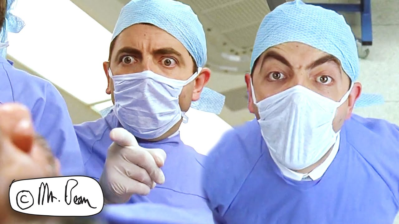 Download SURGERY With Dr Bean   Mr Bean: The Movie   Mr Bean Official