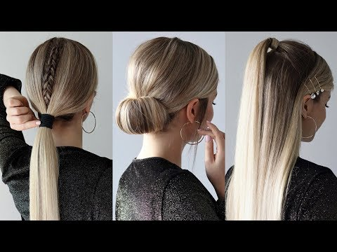 EASY HOLIDAY HAIRSTYLES 2019 thumbnail