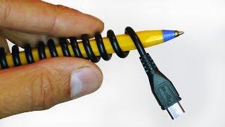 Pen USB Lead  Life Hack