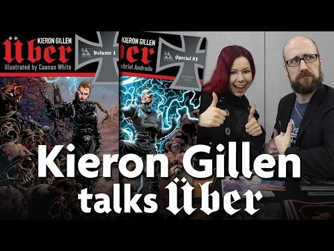 Kieron Gillen talks UBER & why it's the most horrific things he's ever written...