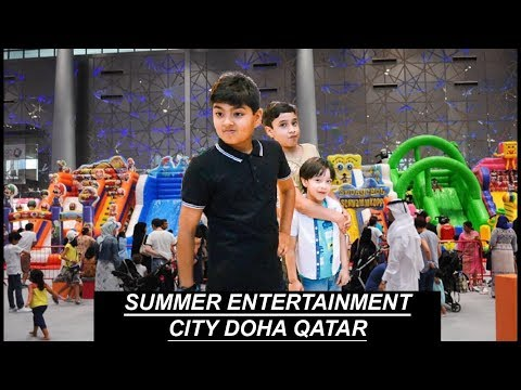 SUMMER ENTERTAINMENT CITY DOHA QATAR!!!!