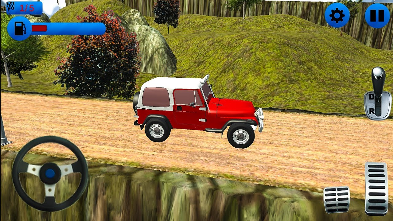 Crazy Off Road Jeep Driving 4x4 Jeep Games 2018 Android