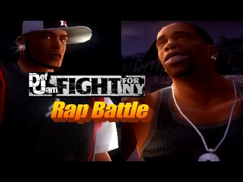 Def Jam Rap Battle | Busta Rhymes VS Twista (Re-Uploaded and Re-Edited!)