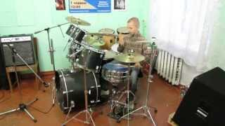 Rammstein - Du Riechst So Gut  - ( Drum Cover ) - Drummer Daniel Varfolomeyev 10 years