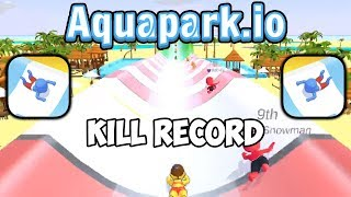 Aquapark.io - Gameplay - Kill Record (16 Kills) - (iOS - Android)