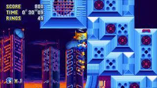 "Sonic Mania (PC) - Studiopolis 1 Sonic: 40""60 (Speed Run)"