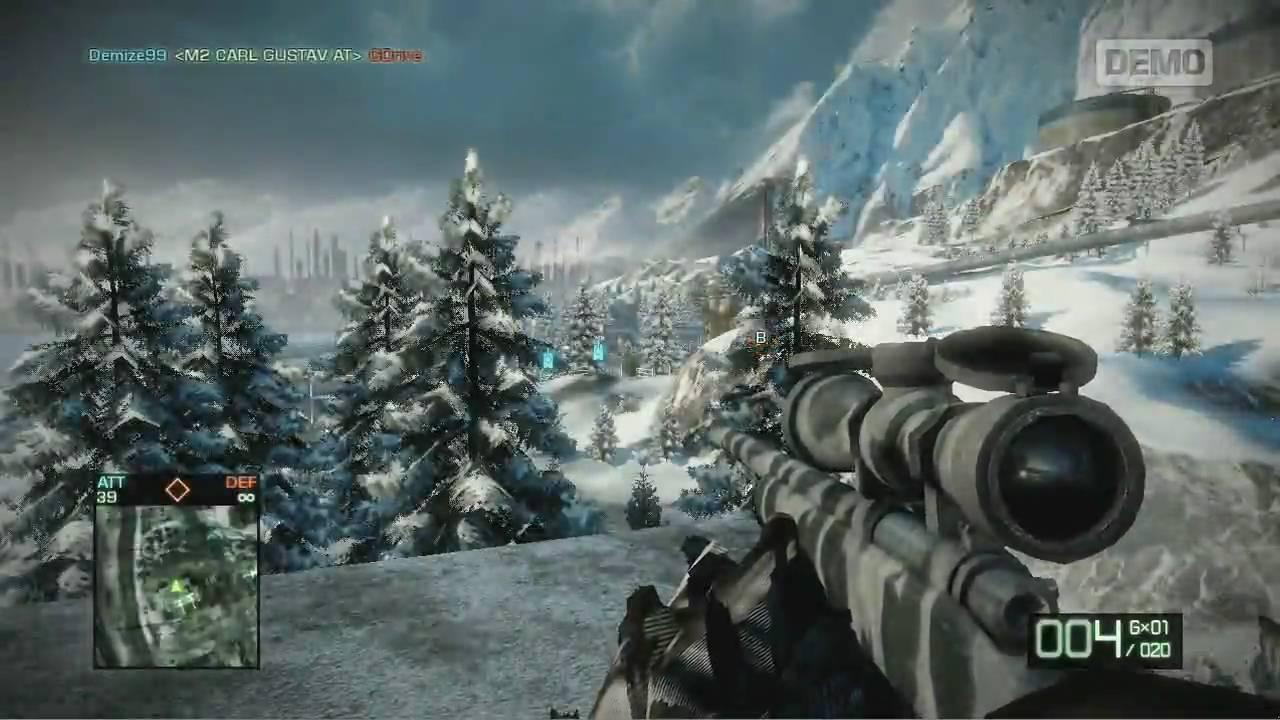 demo jouable battlefield bad company 2