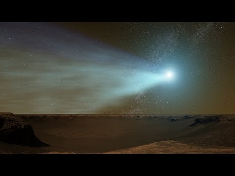 NASA | Observing Comet Siding Spring at Mars