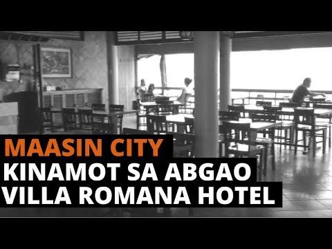 Kinamot sa Abgao and Villa Romana Hotel at Maasin City, Southern Leyte