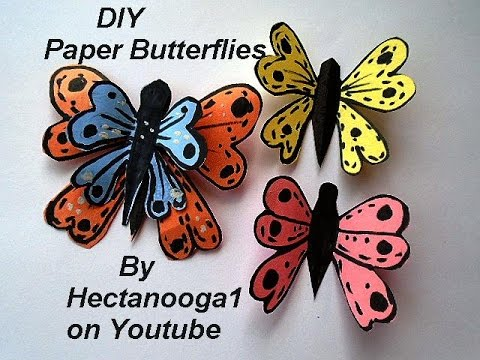 butterfly paper bracelets for kids colorful paper butterflies easy craft for of all 5972