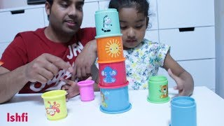 Ishfi Play with Stacking Cups