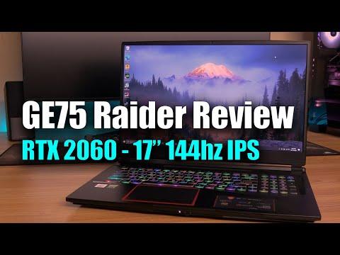 MSI GE75 Raider 2020 Review - i7 10750H - RTX 2060