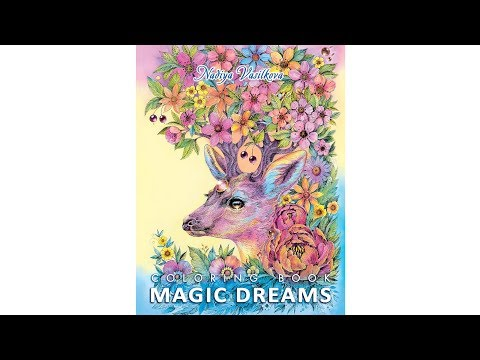 Magic Dreams coloring book