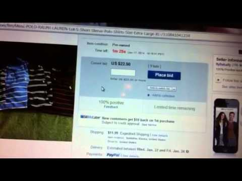 Live eBay auction Review | Watch as it times out!