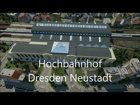 Transport Fever [Schönbau Gameplay] Hochbahnhof Dresden Neustadt