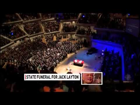 The State Funeral of Jack Layton 2011