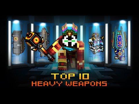 Pixel Gun 3D - TOP 10 Heavy Weapons