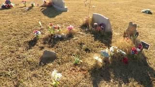 Sterling Cemetery in Sterling Oklahoma, Jan. 12. 2018 !  Video…