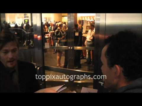 Norman Reedus - Signing Autographs at 'The Conspirator' Premiere in NYC