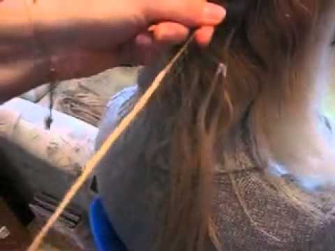 Снятие нарощенных волос снять нарощенные волосы
