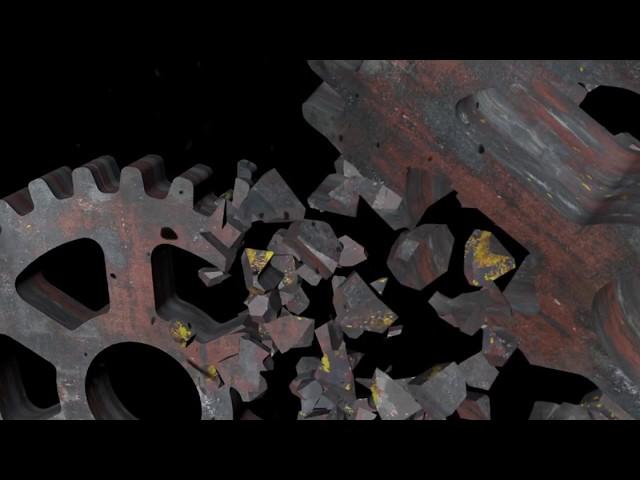 Looping Background Video - Besi Hancur