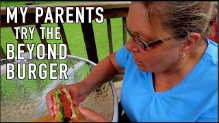 My Parents Try Beyond Burger & My 1st Time on BMX in Years