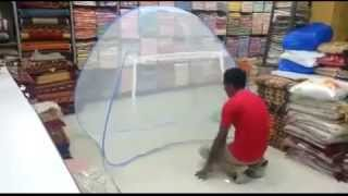 How to Fold Classic Mosquito Net Single bed