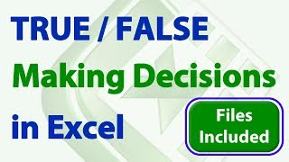 The Power of TRUE FALSE in Excel