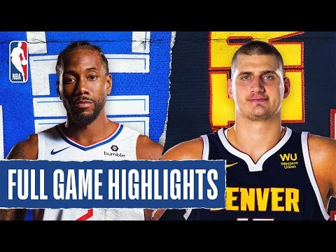 CLIPPERS at NUGGETS | FULL GAME HIGHLIGHTS | January 12, 2020