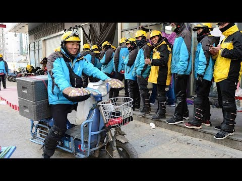 "Will the ""60-minute delivery"" be the future of China"
