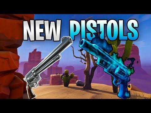FORTNITE - New Ghost Pistol And Last Word Six Shooter Coming Soon (Canny Valley Pt 2, Chat Fix)