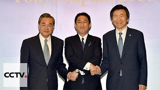 Foreign ministers from China, Japan and South Korea meet in Tokyo