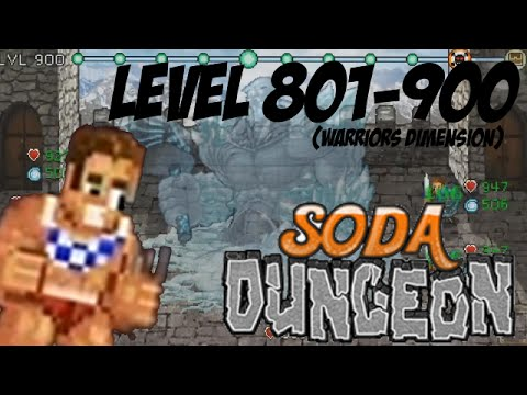 soda dungeon how to get past warriors dimension