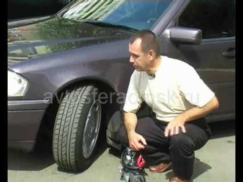 Оптимальное давление в шинах
