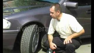 видео Давление в шинах автомобиля зимой и летом: таблица по марке и размеру шин