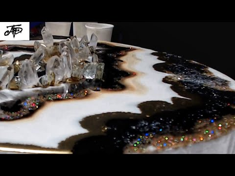 Resin Geode for Beginners (The Easy Way)!