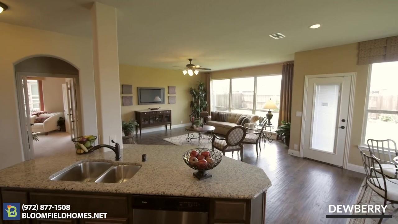 Dewberry Floor Plan New Homes in DFW – Bloomfield Homes Floor Plans