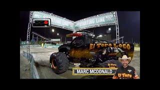 El Toro Loco vs Northern Nightmare Monster Jam World Finals Racing Round 1 2016