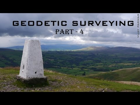 Lecture 9 | GEODETIC SURVEYING - हिंदी | PART 4