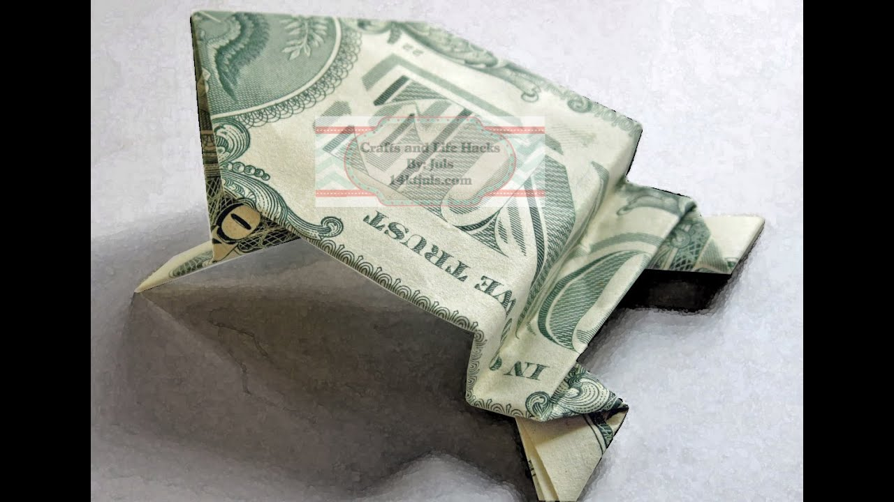 Dollar Bill Jumping Frog Tutorial - YouTube - photo#49